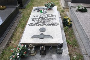 The grave of Jan Zumbach